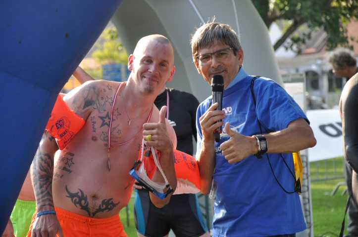 """Schwimm-Charity """"Tell me your time"""" , 15. Juni 2018, Seebad Mörbisch"""