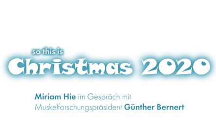 Weihnachtsvideo Grußbotschaft, Jahresrückblick 2020 und -ausblick 2021