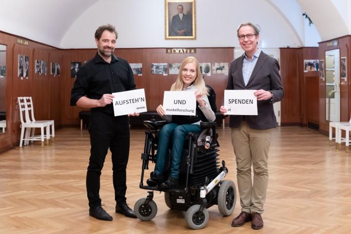 """""""Aufsteh'n und spenden!"""" – Dreharbeiten für unseren neuen Spendenspot"""